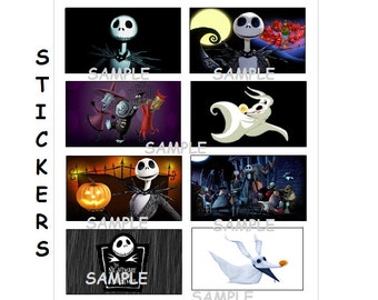 Nightmare Before Christmas Party Favors, Jack Skellington party