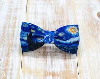Bow tie Van Gogh