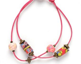 Lucia leather bracelet