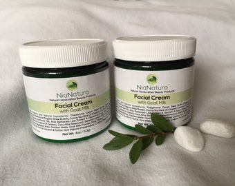 Hydrating Facial Cream with Goat Milk
