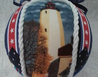 Kimekomi / Nautical Style Ornaments / Sandy Hook, NJ