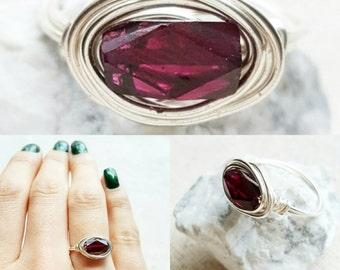 Garnet Ring: January Birthstone