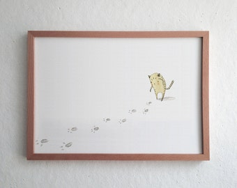 Lost Kitty - Signed Archival Print