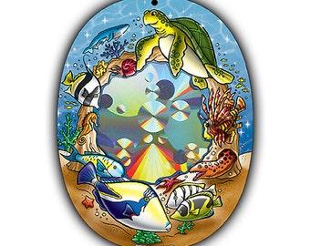 Suncatcher - Coral Reef Suncatcher - Rainbow Sun Catcher