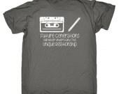 Cassette Tshirt Retro Unisex Loose Fit Music Tape Deck 80s Retro Tee Vintage Boom Box Mix Tape Vintage TShirt Old Skool Analog Top Audio