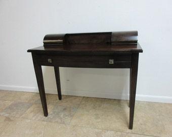 Bernhardt Mahogany Ladies Writing Desk Console