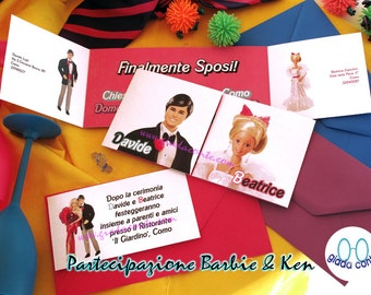 BARBIE & KEN participation-set 20 pieces