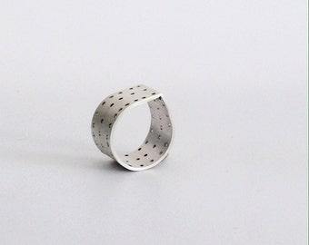 Silver Tear Ring