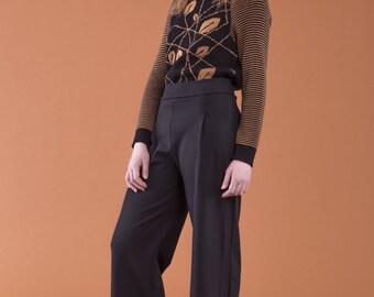 ON SALE Ferreti Palazzo pants, 95% coton-5 spandex, FW16