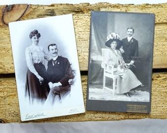 Antique Cabinet Cards - Antique photographs - 1900s photos - Old cabinet cards - Antique photos - Old photography - Vintage photos