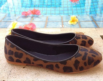 VALE- Leather ballet flat