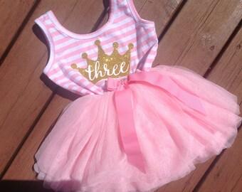 Third Birthday Princess Dress
