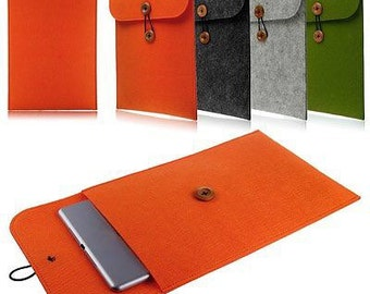 Eco- Freindly USA Made Felt Tablet Case