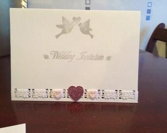Lovey dovey invitation
