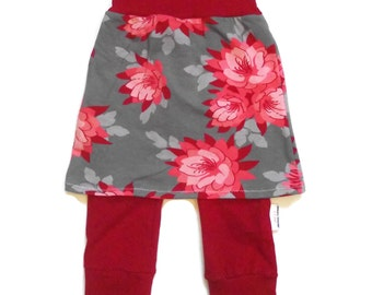Rolling skirt pants