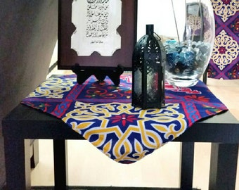 Ramadan-Eid Side Table Cloth-Purple