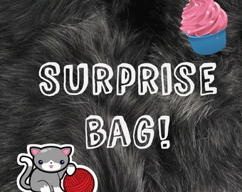 Mystery bag (Collar, toys, candies, stationary)