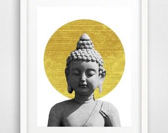 Buddhist Wall Art buddha art   etsy