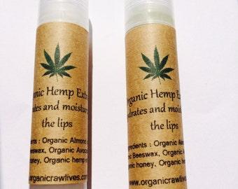 Honey lip balm- All natural, made with organic honey & beeswax