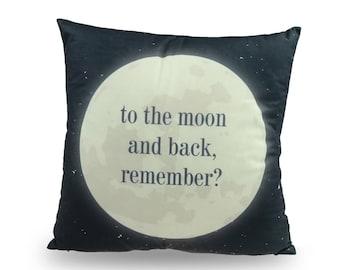 Decorative pillow Moon