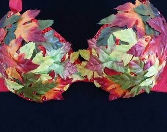 Autumn Love Rave Bra
