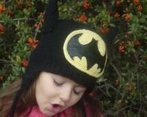 Batman Children's knitted hat