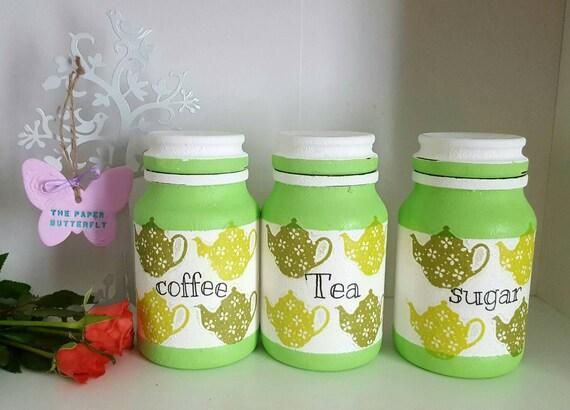 green kitchen jars apple green kitchen by sophspaperbutterfly. Black Bedroom Furniture Sets. Home Design Ideas