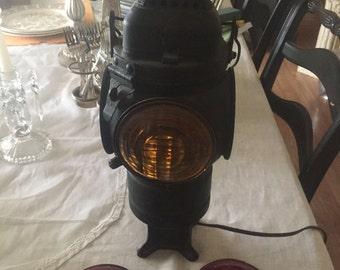 Adlake Non-Sweating Lamp Chicago -Railroad Lantern