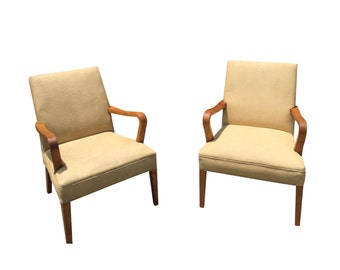 Art Deco Club Chairs - Pair