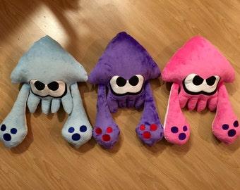 Splatoon Inspired Squid Plush