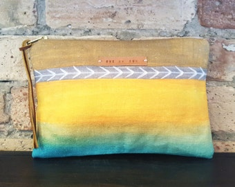 Naturi - Watercolor Gradation POUCH / COIN PURSE