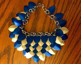 scale mail bracelet