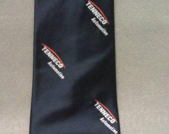 Tenneco Automotive  Men 100% Silk Neck Tie