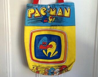 Vintage Pac-Man Tote Bag