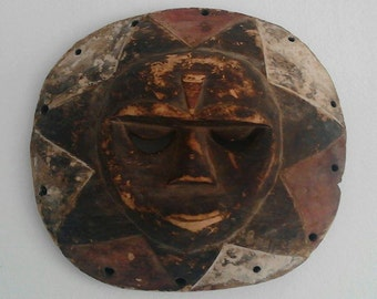CYBER MONDAY -15%!!! Antique African Mask 1930