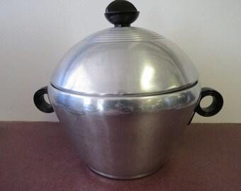 Vintage Enterprise Aluminum 3 Piece Bun Warmer