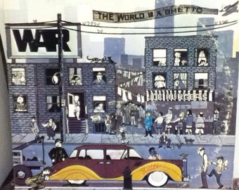 War The World Is A Ghetto 12 Inch Vinyl Record
