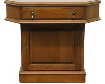 """PENNSYLVANIA HOUSE Solid Cherry 24"""" Storage End / Rent Table"""