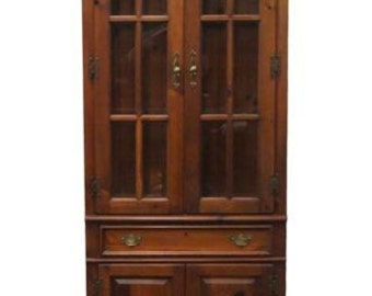 LEXINGTON FURNITURE 30″ Lighted Display Cabinet Wall Unit 303-698
