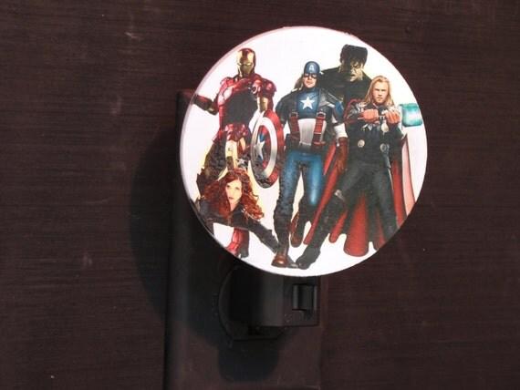 Avengers night light - Avenger nightlights ...