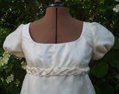 Regency Dress Jane Austen Wedding Gown