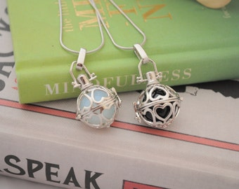 Heart Cage Necklaces