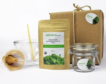 Tea Set - Ceremonial Grade Organic Matcha - Matcha Live Longer