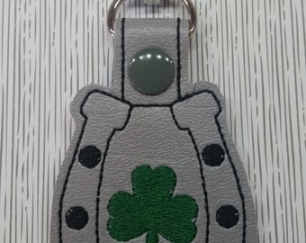 Lucky Horse Shoe Key Chain