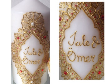 Personalised/Custom Henna Candle