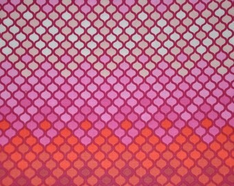 One Yard on Pink Mosaic 100% Cotton Quilt Fabric by Tula Pink
