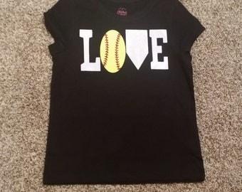 Softball LOVE Shirt