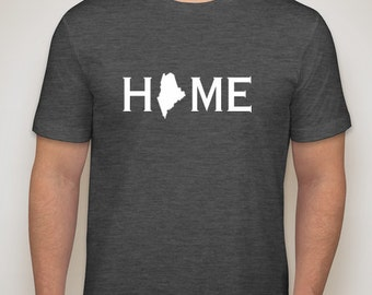 Maine home t shirt, Maine t-shirt