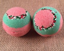 Christmas Wreath Bath Bomb {LIMITED TIME ONLY}