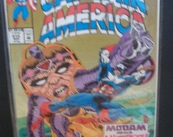1993 Captain America #413 MODAM, Lots of Villains  VF-NM Unread Vintage  Comic Book Marvel Comics